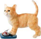Статуэтка Enesco Котёнок с мышкой, 8.5см, полистоун CA03260