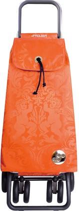 Сумка-тележка хозяйственная на колёсах оранжевая Rolser LOGIC TOUR PAC051mandarina