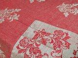 Скатерть Касандра 150x200 бордовая Белорусский лён 11c423/150x200/314/3