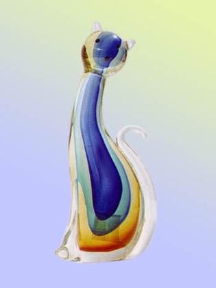 Фигурка Радужный кот 12x28см Top Art Studio ZB1974-TA