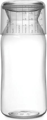 Пластиковая банка с мерным стаканом 1,3л, прозрачный Brabantia 290220