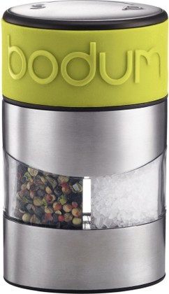 Мельница для соли и перца, зелёный лайм Bodum TWIN 11002-565