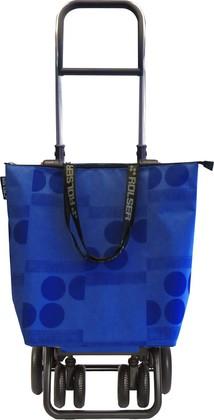 Сумка-тележка хозяйственная синяя Rolser LOGIC TOUR MINI BAG MNB023azul