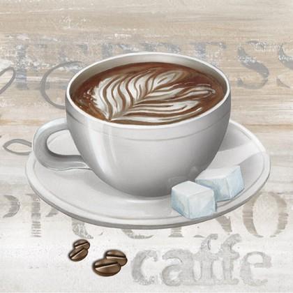 Салфетки Время кофе, 33x33, 20шт Paw SDL079400