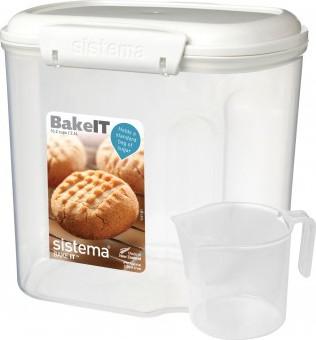 Контейнер 2.4л с чашкой Sistema Bake It 1240