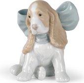 Статуэтка фарфоровая Щенок в подарок (Puppy Present) 101см NAO 02001349