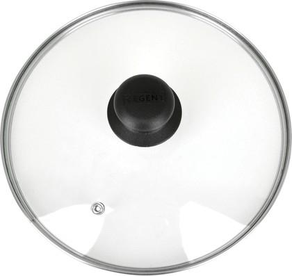 Крышка 30см низкая с пароотводом Regent Inox 93-LID-01-30
