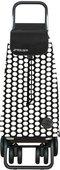 Сумка-тележка Rolser Luna, поворотные колёса, складная, чёрно-белая PAC043blanco/negro