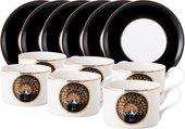 Чайный набор Top Art Studio Персия, 12 предметов YF1404-TA