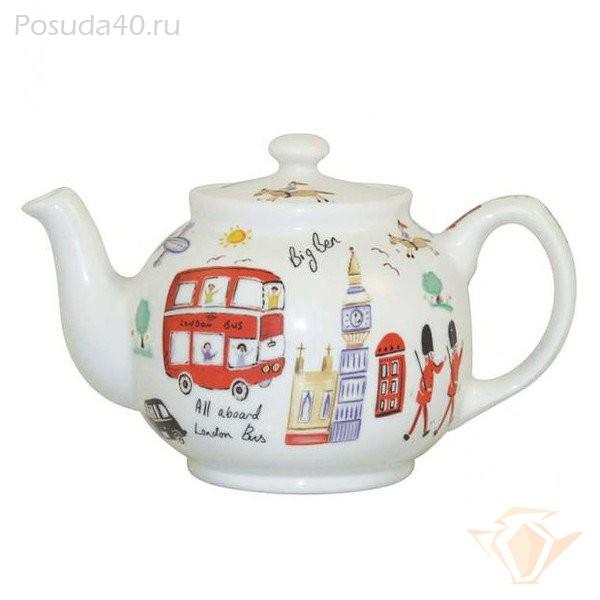 чайник с картинками лондона поставляется небольшой внешней