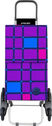 Сумка-тележка шагающая фиолетовая Rolser RD6 PARIS PAR042more