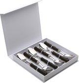 Набор чайных ложек EME Acqua Браун, 6шт PL6X90AC/TB