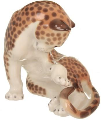 Статуэтка ИФЗ Леопард, фарфор 82.00997.00.1