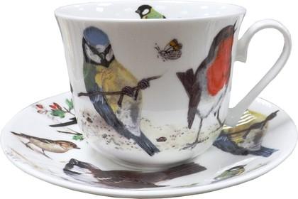 Чайная пара Птицы в саду, Chatsworth, 450мл Roy Kirkham XGAR1100