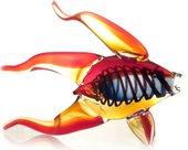 Фигурка стеклянная Top Art Studio Рыбка золотая, 32x26.5см ZB2169-TA