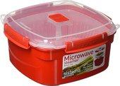Пароварка-контейнер 2.4л Sistema Microwave 1102