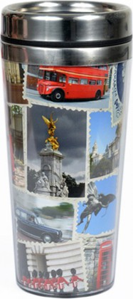 Кружка с собой Красная будка, 2 Sterling Products FSK011