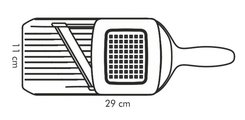Тёрка с керамическим лезвием Tescoma Vitamino, регулируемая 642760.00