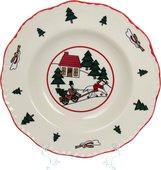 Тарелка Masons Рождественская деревенька суповая, 22см 56533401007