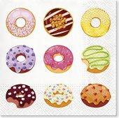 Салфетки для декупажа Paw Вкусные пончики, 33x33см, 20шт TL701600