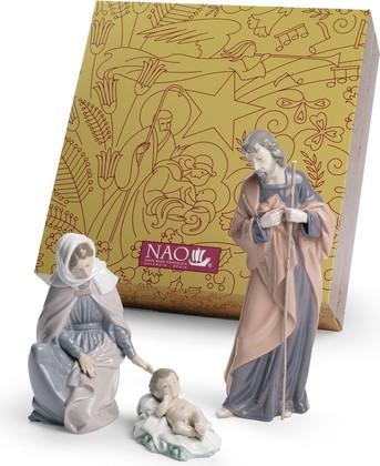 Статуэтка фарфоровая NAO Рождественский комплект (Nativity set) 02007026