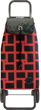 Сумка-тележка хозяйственная красная ROLSER Convert RG IMX025rojo