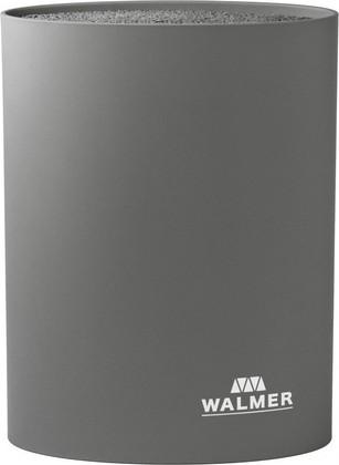 Подставка для ножей овальная 16x7x22см, серая WALMER W08002304