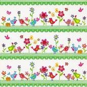 Салфетки для декупажа Paper+Design Семья птиц, 33x33см, 20шт LN0710