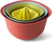 Кухонный набор Brabantia Tasty Colours: миски, мерный стакан, соковыжималка 110047