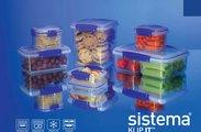 Контейнер для продуктов 1.2л Sistema Klip It 1650