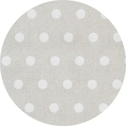 Скатерть текстильная d160см, белый горох Aitana Vangogh VANG/000160/blanco
