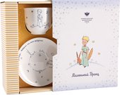Чайная пара ИФЗ Ландыш, Маленький Принц и Роза, подарочный набор 81.27751.00.1