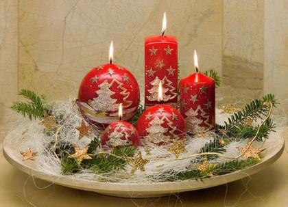 "Свеча ""Альпина"" пирамида 5х5х15cм Bartek Candles 5907602654295"