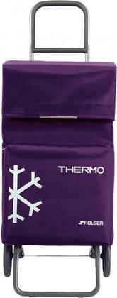 Термосумка-тележка хозяйственная фиолетовая Rolser RG THERMO TER037more
