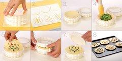 Формочки для пирожков с узором, 3 вида Tescoma DELICIA 630881