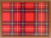 Поднос на подушке Top Art Studio Шотландка, 41x31см HSN1289-TA