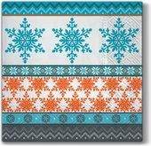 Салфетки Холодная зима 33x33, 3-сл, 20шт Paw SDL098100