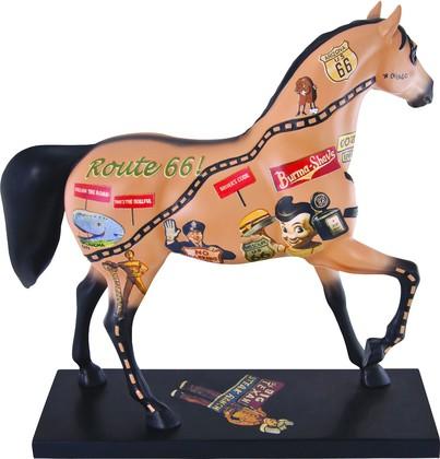 Статуэтка Лошадь Шоссе 66 (Rockin' Route 66), 18.5см Enesco 4030254
