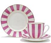 Набор чайный ИФЗ Ландыш, Да и Нет, светло-розовый, 3 предмета 81.23097.00.1