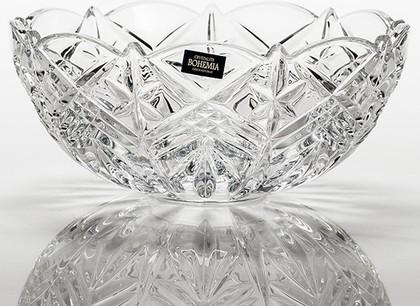 Салатник Crystalite Bohemia Нова Таурус 22см 69001/0/99007/220