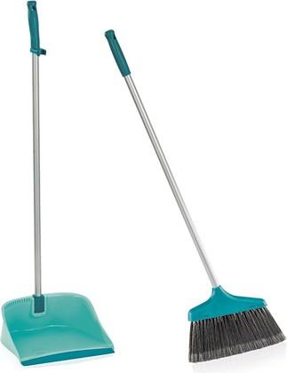 Набор для подметания: щётка и совок с длинной ручкой Leifheit Sweper Set 41404