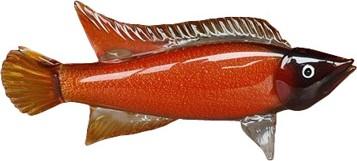 Фигурка Рыба янтарная 49x10.5x23.5см Top Art Studio ZB2171-TA