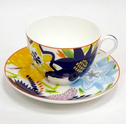 Чашка с блюдцем ИФЗ Весенняя-2, Букет для Марии 81.25984.00.1