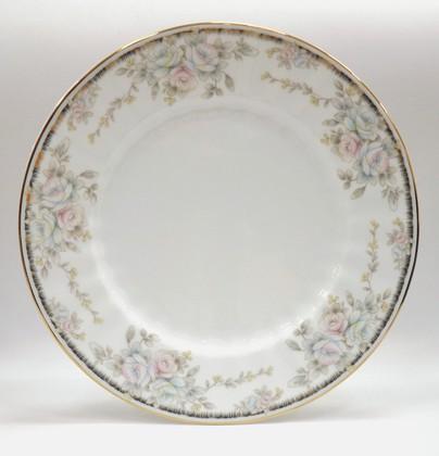 Тарелка мелкая Porcelaine Czech Gold Hands Весенний букет, 25см LUISA14102TM25x1
