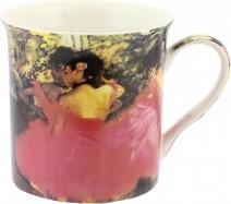 Кружка Импрессионисты Дега. Танцовщица в розовом 300мл The Leonardo Collection LP92490