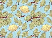Доска разделочная стеклянная Top Art Studio Лимонный Сад, 40x30см GD3235-TA