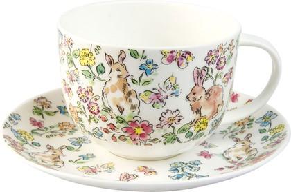 Чайная пара для завтрака (2 вида) Утренний луг Roy Kirkham XRSPBMOR1165