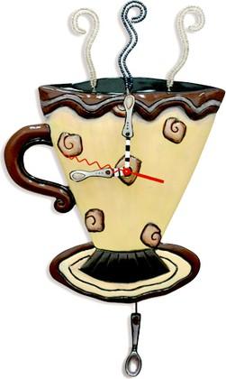 """Настенные часы """"Чашка Мокко"""" (Mocha Cup Coffee), 34см Enesco C158"""
