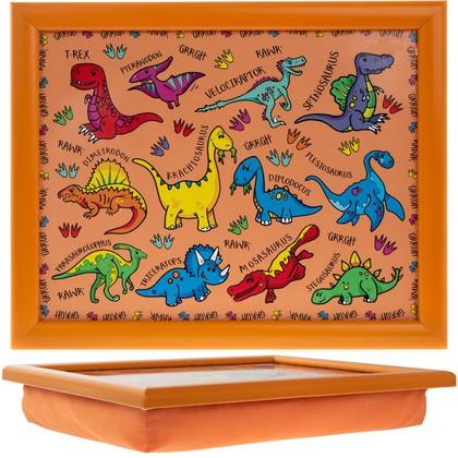 Поднос на подушке Lesser & Pavey Динозаврики, 35x28см LP42724