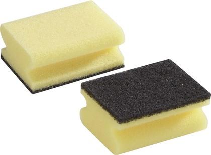 Губка жёсткая для очистки загрязнённых поверхностей, 2шт. Leifheit 40017